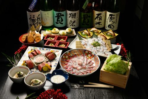 武蔵の宴会コースが新しくなりました